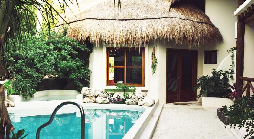 casa iguana holbox - recepción